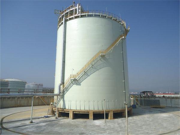 500m³LNG储罐现场